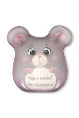 Антистрессовая игрушка Мышка открытка