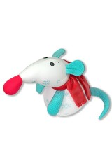 Антистрессовая игрушка Мышка Снежинка