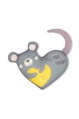 Антистрессовая игрушка Мышь Валентинка