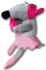 Антистрессовая игрушка Мышка Наташка