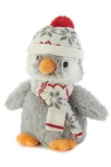 Игрушка-грелка Пингвин в шапочке