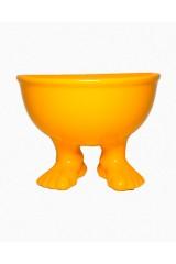 Миска на ножках Оранжевая