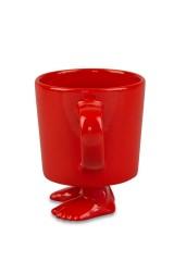 Кружка на ножках Красная
