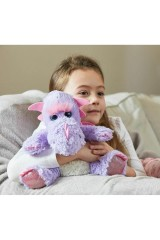 Игрушка-грелка Фиолетовый дракон