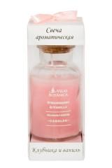 Свеча ароматическая Клубника и ваниль
