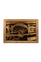 Картина Колесо поезда