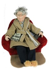 Кукла коллекционная Дедушка