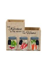 Подставка для кухонных принадлежностей «Вкус лета»