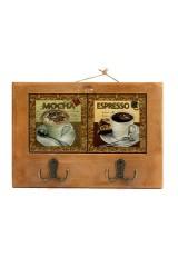 Коллаж с 2 крючками Кофейный аромат