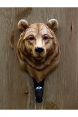 Настенный крючок-вешалка Медведь