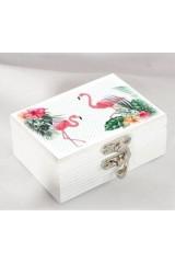 Шкатулка для хранения Фламинго