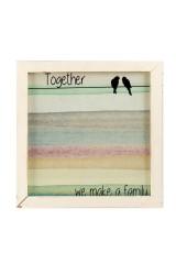 Мемо-доска Вместе мы семья