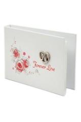 Фотоальбом свадебный Красные розы