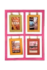 Фоторамка для 4 фото Куба