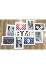 Фоторамка для 8 фото HOME