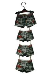 Фоторамка для 5 фото Джинсовые шорты