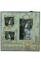 Фоторамка для 3 фото День свадьбы