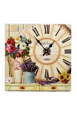 Часы Летние цветы