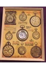 Часы коллаж