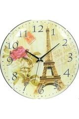 Часы настенные Эйфелева башня