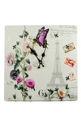 Часы настенные Лето в Париже