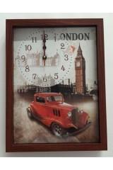 Часы настенные По улицам Лондона