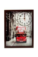 Часы настенные Переулки Парижа