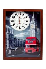 Часы настенные Прогулки по Лондону