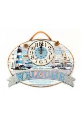 Часы настенные Welcome