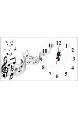 Часы настольные Let us music