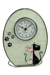 Часы Кошечка