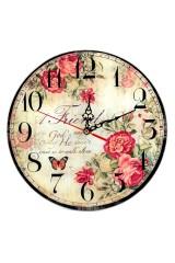 Часы Цветы