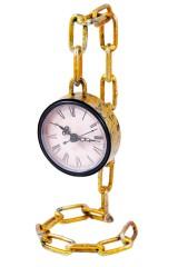 Часы настольные Цепь