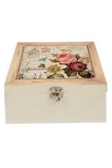 Шкатулка для хранения Букет цветов