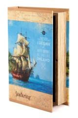 Шкатулка-фолиант В море
