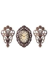 Часы настенные с панно