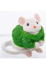 Фигурка декоративная Мышонок в свитере