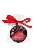 Шоколад с предсказанием Чоко с клубникой