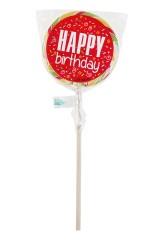 Леденец на палочке С днем рождения!