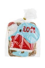 Пряник имбирный Дед Мороз с мешком