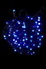 Гирлянда светодиодная электрическая Минишарики
