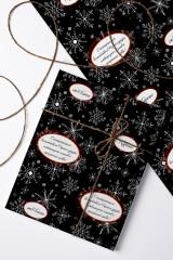 Бумага упаковочная Новогодняя классика