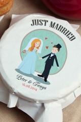 Мандариновое варенье с Вашим именем Just Married