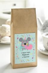 Чай с Вашим именем Мышонок-единорог