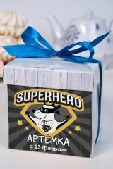 Печенье с предсказанием именное Супергерой