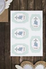 Набор наклеек на подарки с Вашим текстом Традиционная Пасха