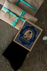 Носки мужские с Вашим именем «Джентльмен клаб»