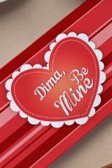Шоколад с Вашим именем Be Mine