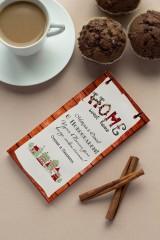 Шоколад с Вашим именем С новосельем
