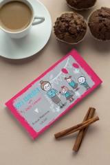 Шоколад с Вашим именем Любовь к знаниям